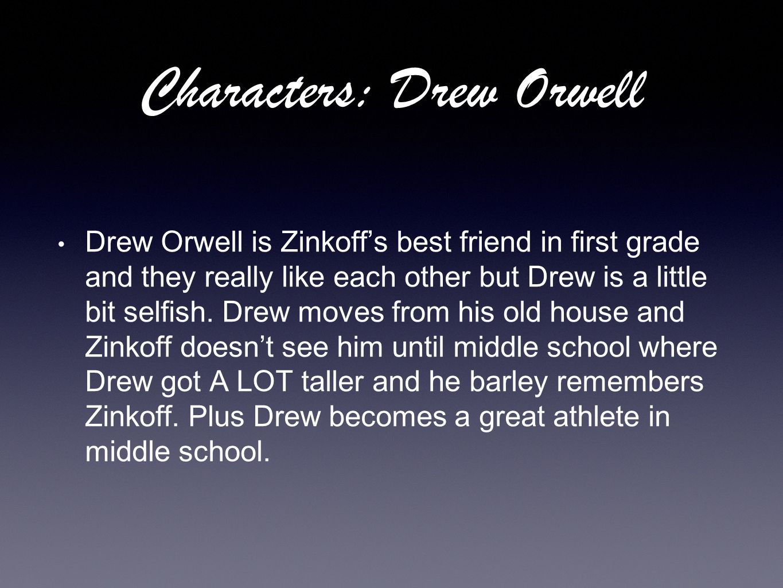 Characters: Drew Orwell