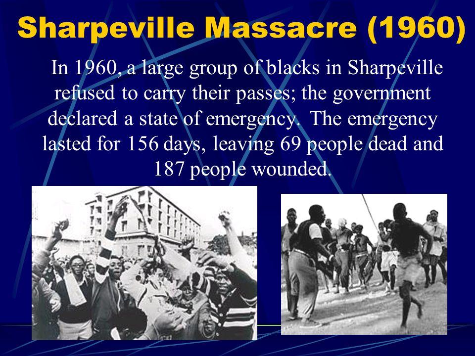 Sharpeville Massacre (1960)