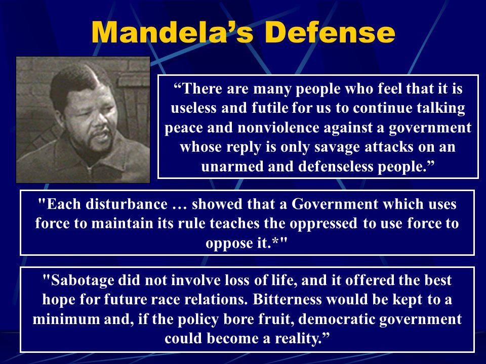 Mandela's Defense