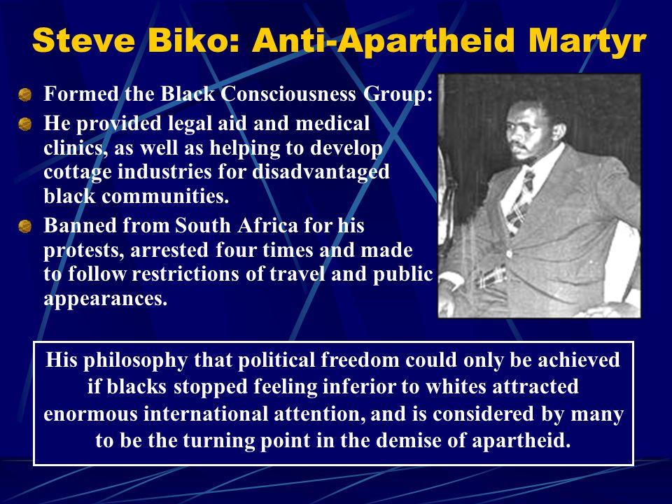 Steve Biko: Anti-Apartheid Martyr