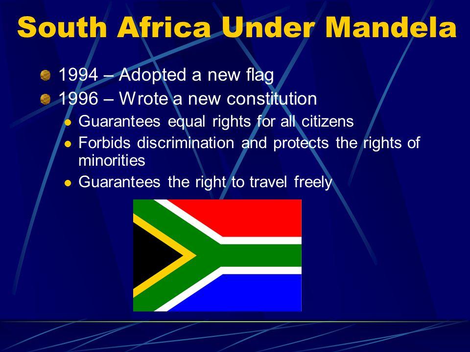 South Africa Under Mandela