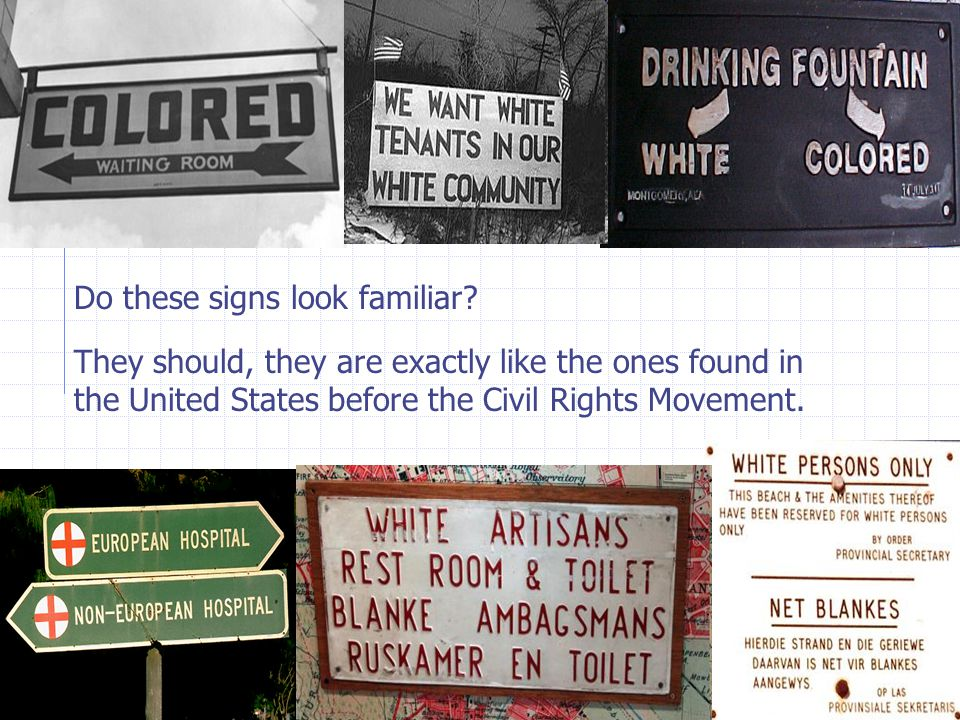 Do these signs look familiar
