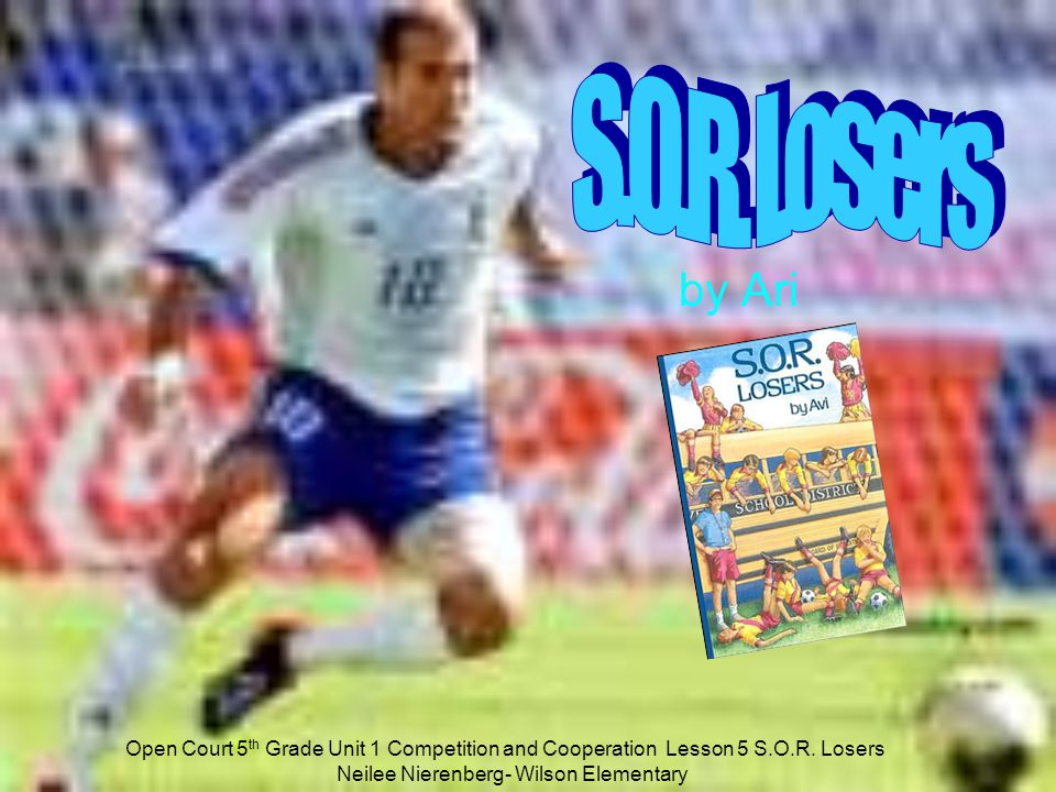 S.O.R. Losers by Ari. http://www.opencourtresources.com.