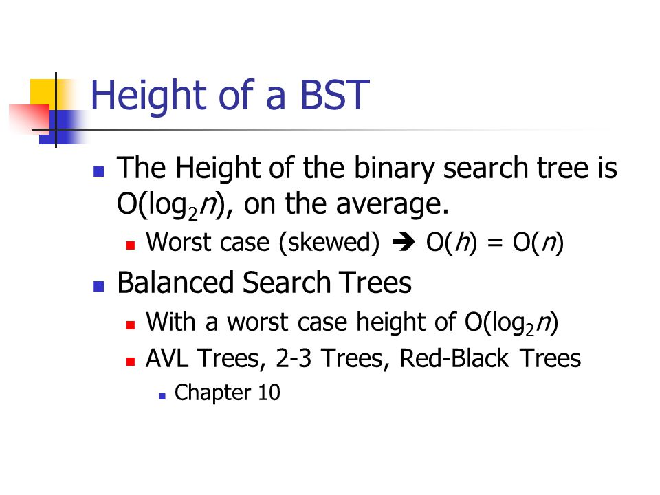 Applications of binary search trees. - CodeChef Discuss