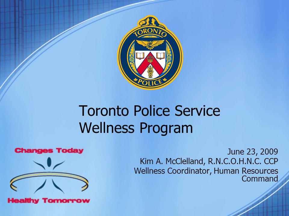 Toronto Police Service Wellness Program