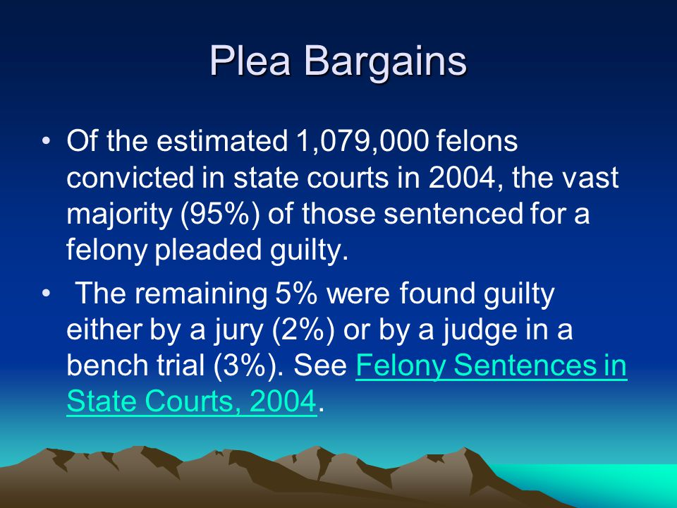 Plea Bargains
