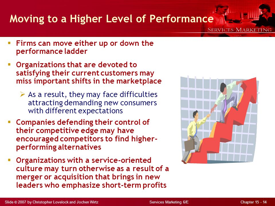 Moving to a Higher Level of Performance