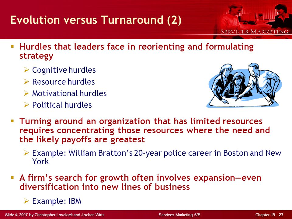 Evolution versus Turnaround (2)