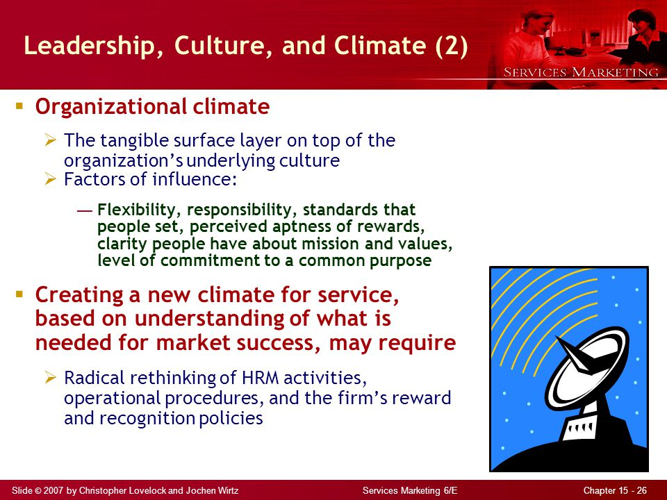 Leadership, Culture, and Climate (2)