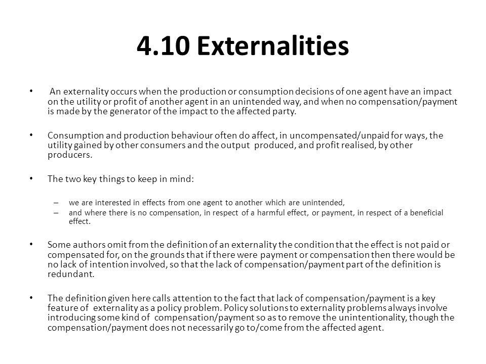 4.10 Externalities