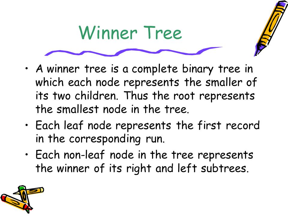 Winner Tree