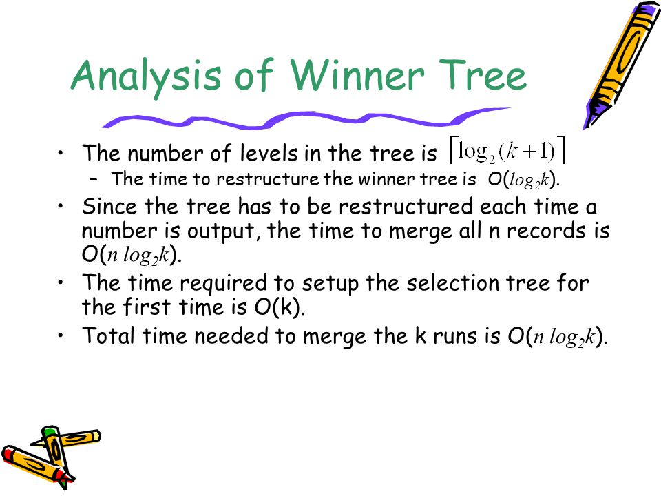 Analysis of Winner Tree