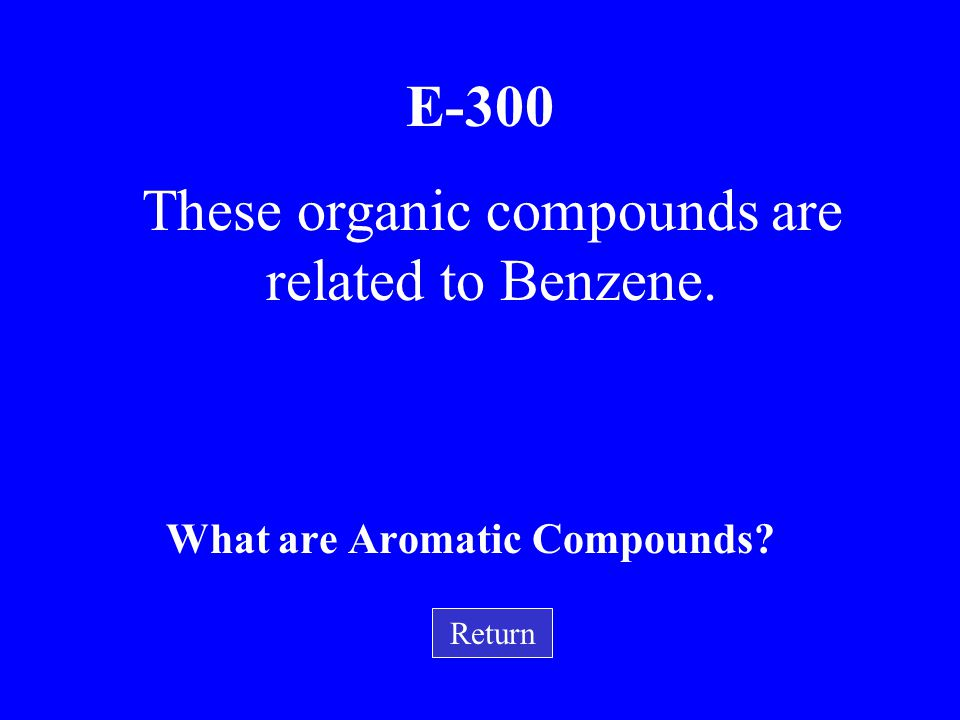These organic compounds are related to Benzene.