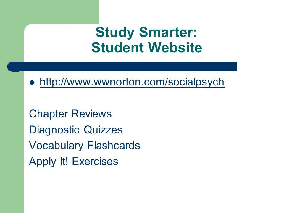 Study Smarter: Student Website