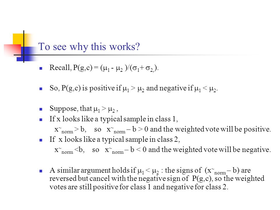 To see why this works Recall, P(g,c) = (1 - 2 )/(1+ 2,).