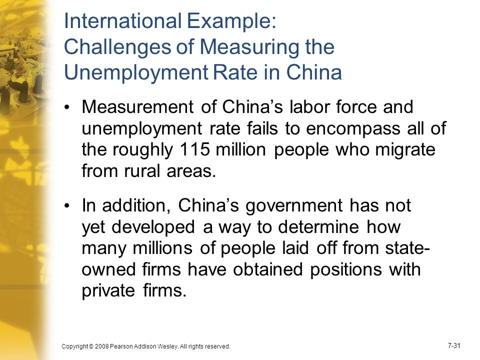 International Example: Challenges of Measuring the Unemployment Rate in China