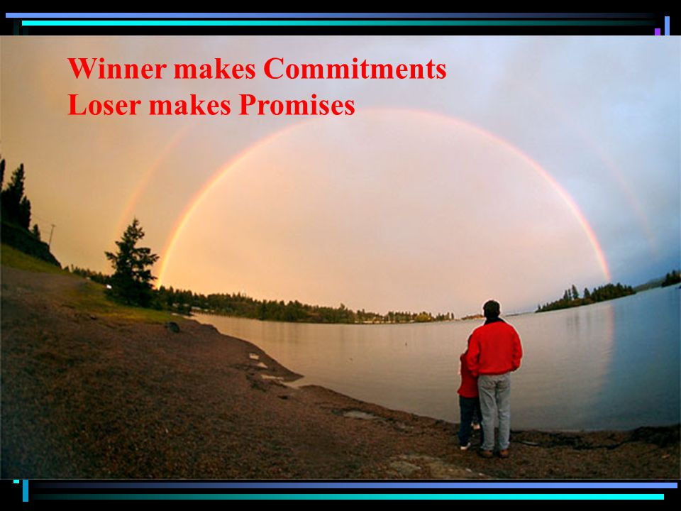 Winner makes Commitments