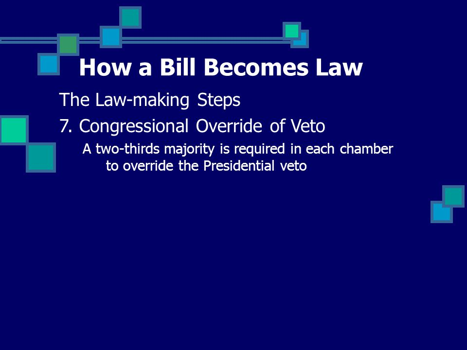 How a Bill Becomes Law The Law-making Steps