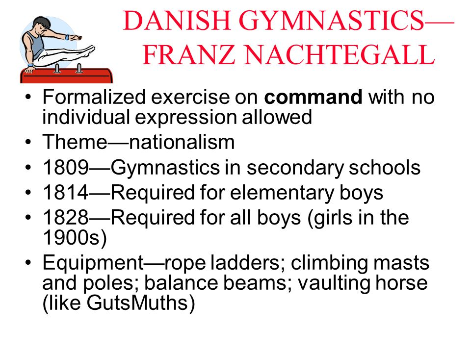 DANISH GYMNASTICS—FRANZ NACHTEGALL