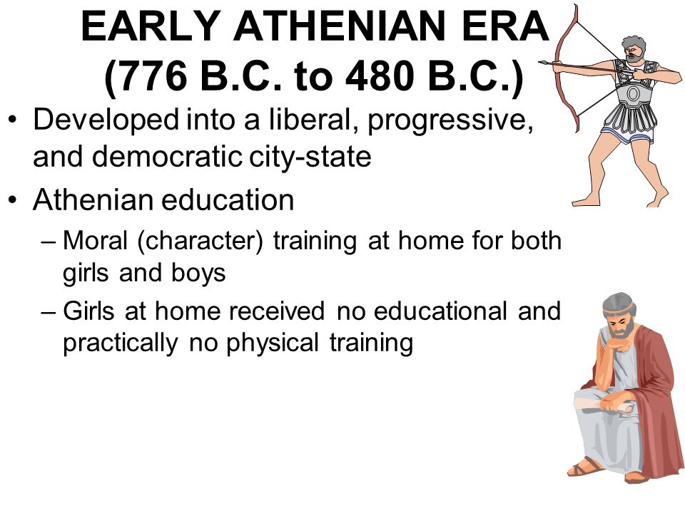 EARLY ATHENIAN ERA (776 B.C. to 480 B.C.)