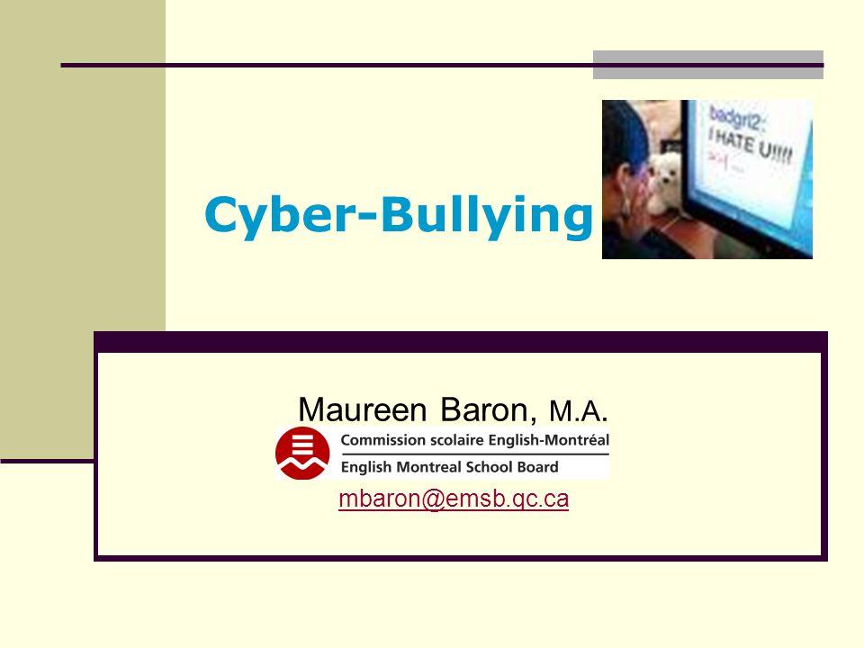 Maureen Baron, M.A. mbaron@emsb.qc.ca