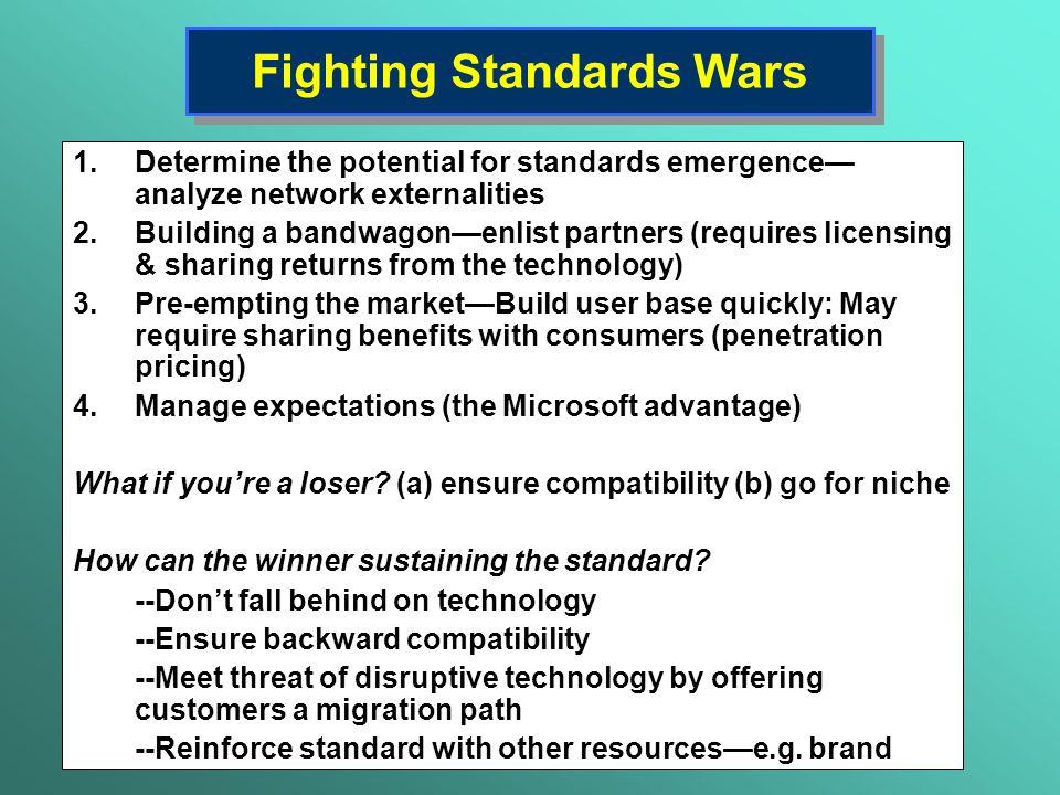 Fighting Standards Wars