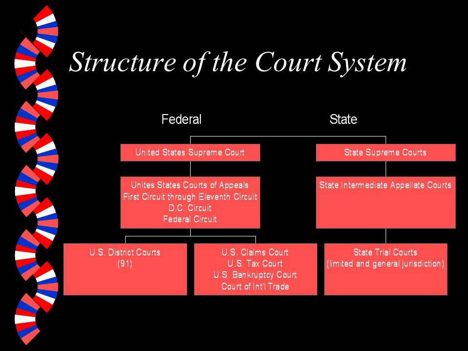 Structure of the Court System