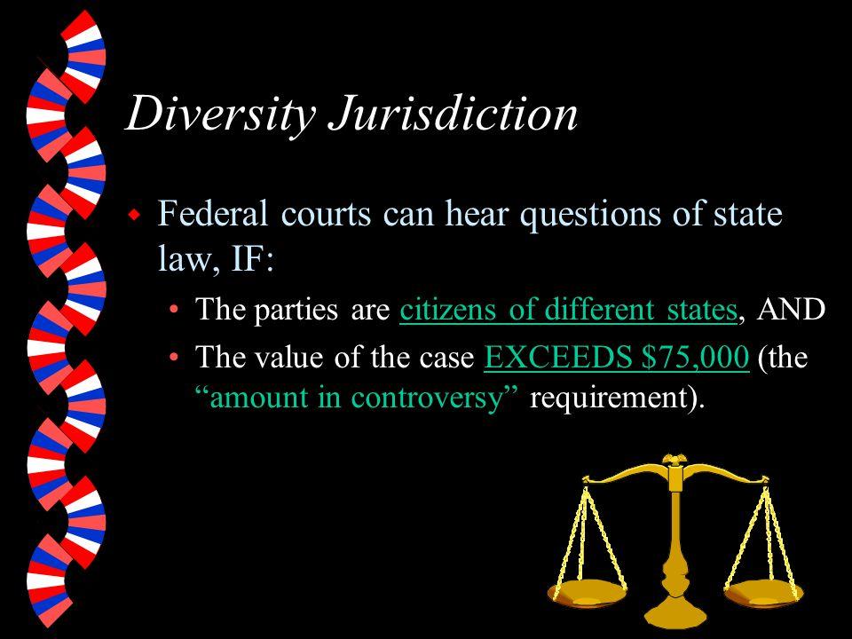 Diversity Jurisdiction