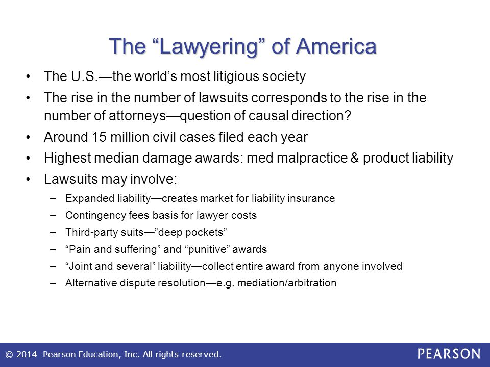 The Lawyering of America
