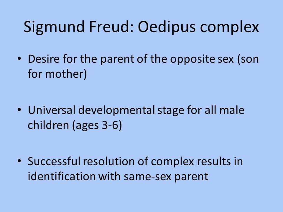 Sigmund Freud: Oedipus complex