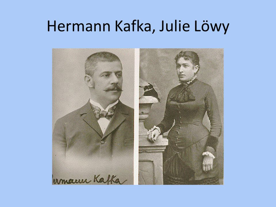 Hermann Kafka, Julie Löwy