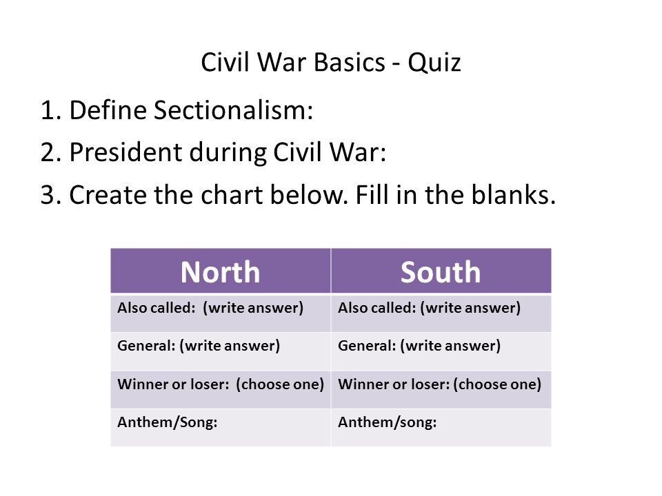 civil war essay prompt