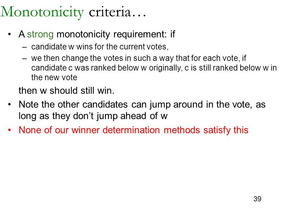 Monotonicity criteria…
