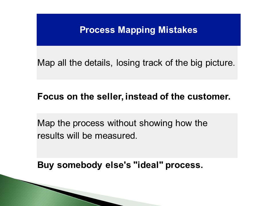 Process Mapping Mistakes
