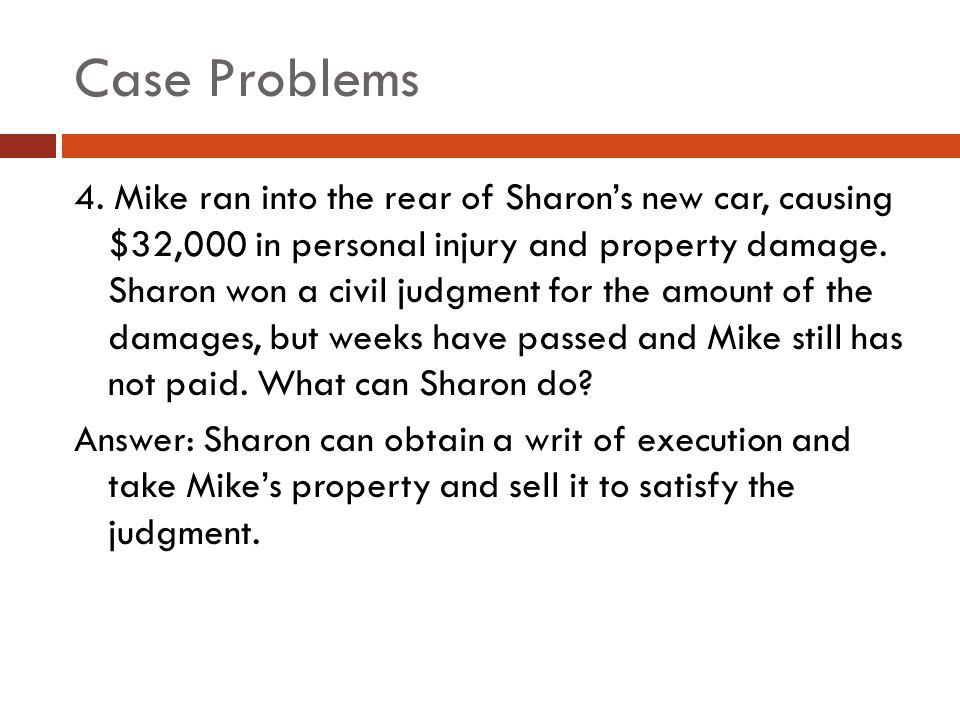 Case Problems