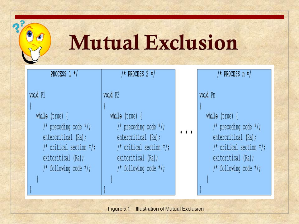 Mutual Exclusion