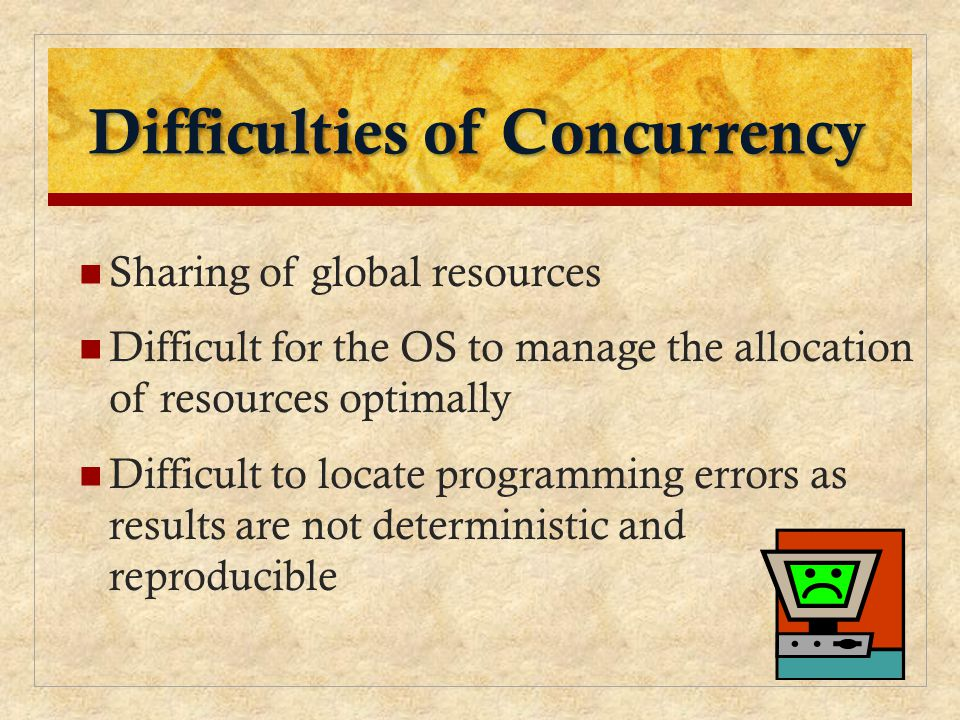 Difficulties of Concurrency