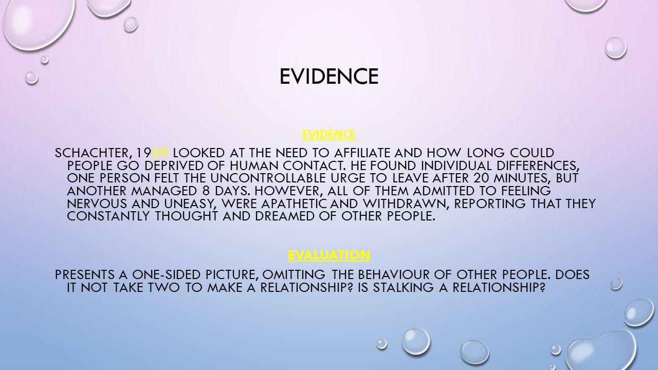 evidence EVIDENCE.