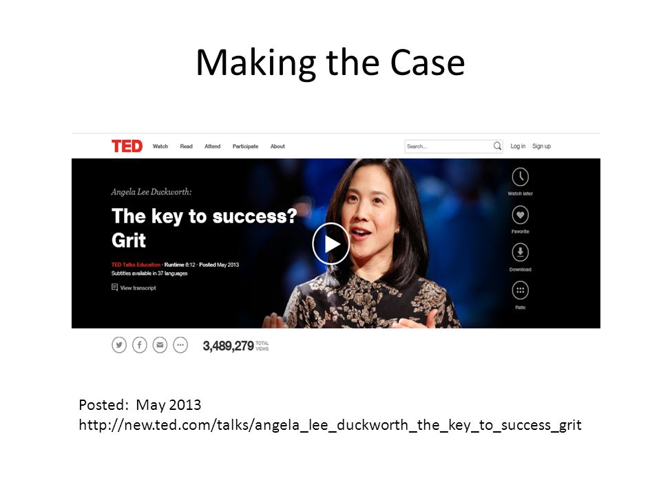 Making the Case Posted: May 2013