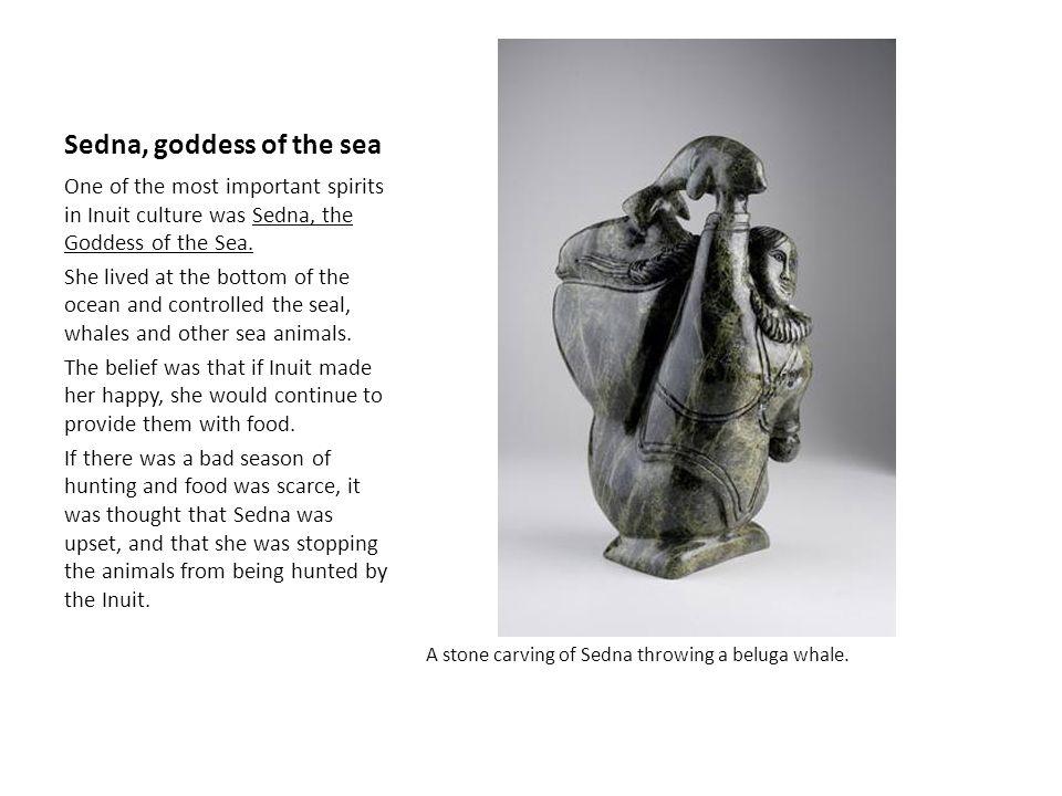 Sedna, goddess of the sea