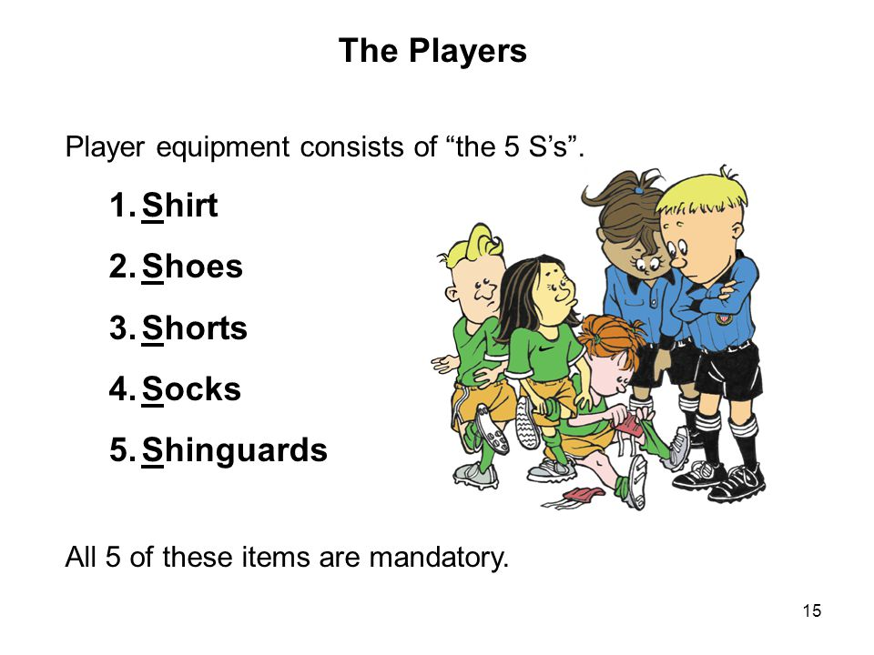 The Players Shirt Shoes Shorts Socks Shinguards
