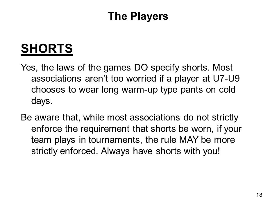 The Players SHORTS.