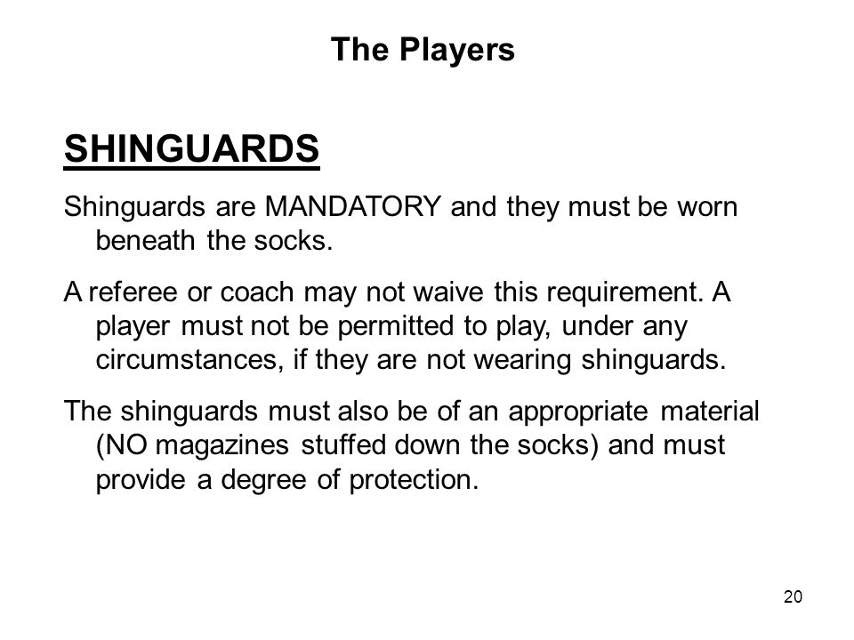 SHINGUARDS The Players