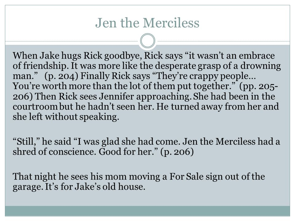 Jen the Merciless