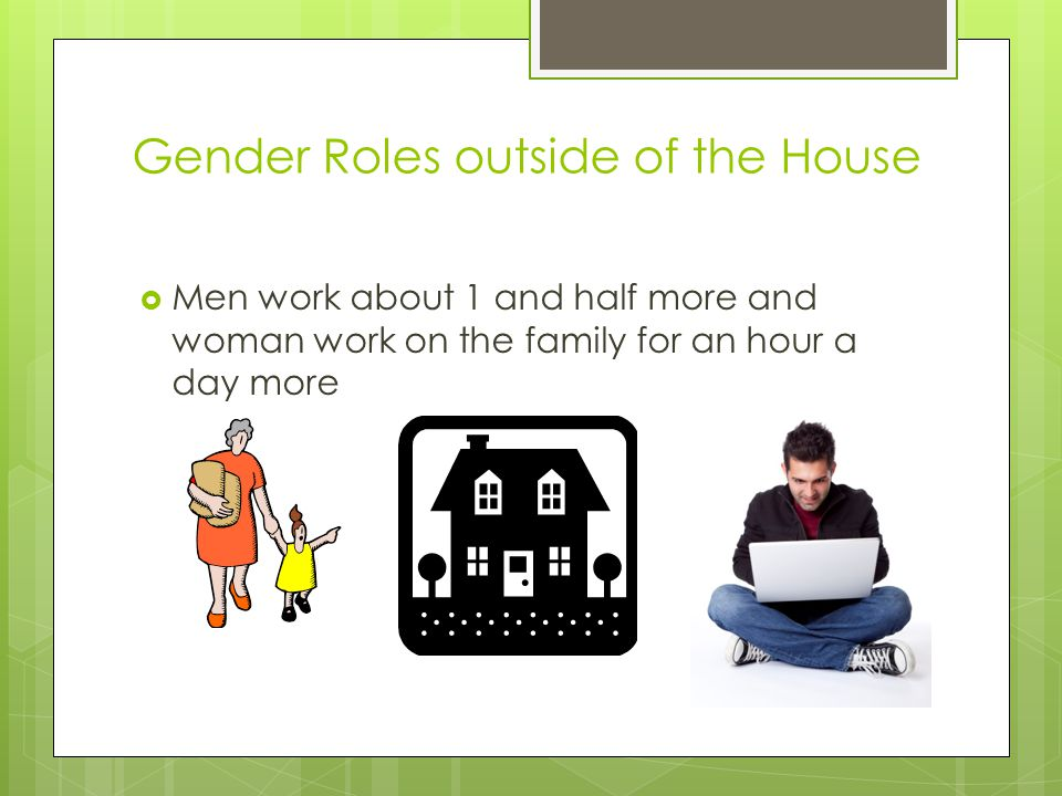 Gender Roles outside of the House