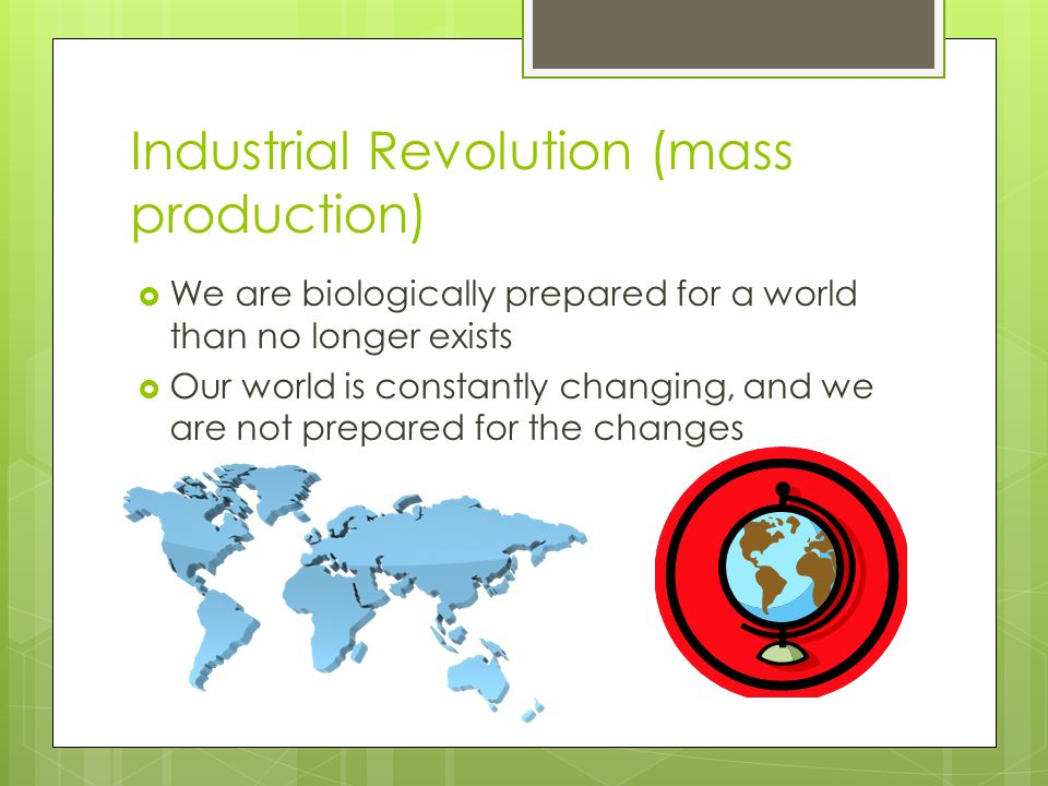Industrial Revolution (mass production)