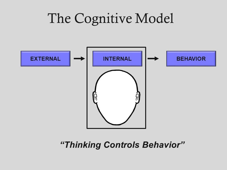 Thinking Controls Behavior
