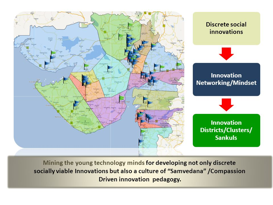 Mining the young technology minds for developing not only discrete