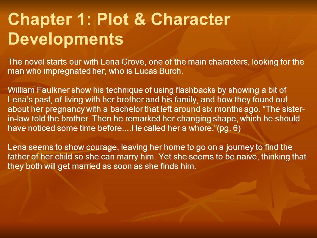 Chapter 1: Plot & Character Developments
