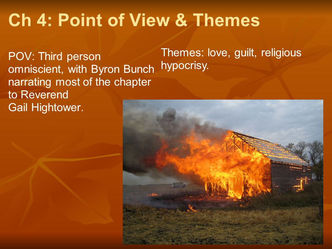 Ch 4: Point of View & Themes
